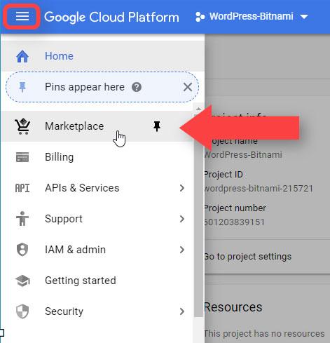 Marketplace Google Cloud