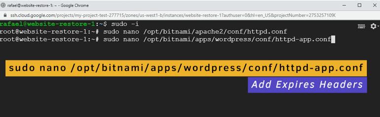 Archivo de Configuración de la Aplicación del Servidor Apache